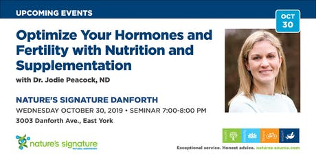 Optimize your Hormones & Fertility with Nutrition & Supplementation tickets