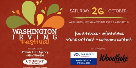 4th Annual Washington Irving Festival tickets