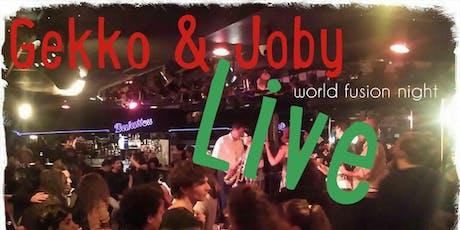 Gekko & Joby Live show tickets