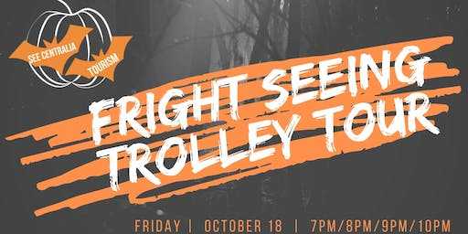 Fright Seeing Trolley Tour