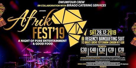 AFRIK FEST 2019 tickets