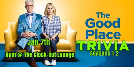 The Good Place trivia (Seasons 1&2) tickets