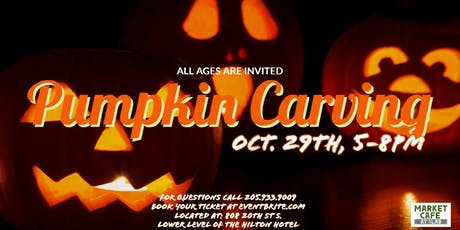 Kids Pumpkin Carving tickets