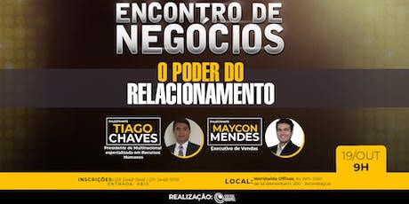 5º  Encontro de Negócios - Rio de Janeiro ingressos