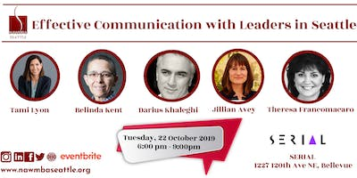 NAWMBA Seattle - Effective  Communication with Leaders in Seattle