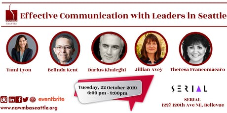 NAWMBA Seattle - Effective  Communication with Leaders in Seattle tickets
