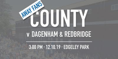 Away Fans - #StockportCounty vs Dagenham & Redbrid