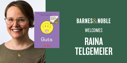 Meet Raina Telgemeier at Barnes & Noble Neshaminy Mall!
