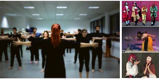 Театрален Уъркшоп - Corpo, Commedia e Improvviso - Sofia 2020