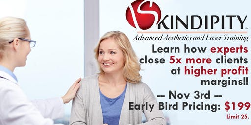 Skindipity Advanced Sales and Consultation Training Workshop