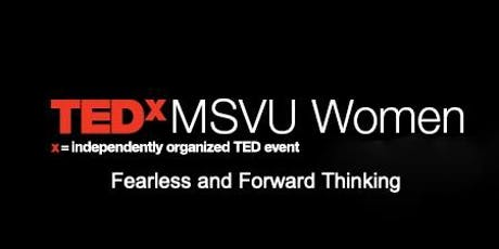 TEDxMSVU Women tickets