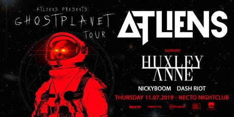ATLiens : Ghost Planet Tour tickets
