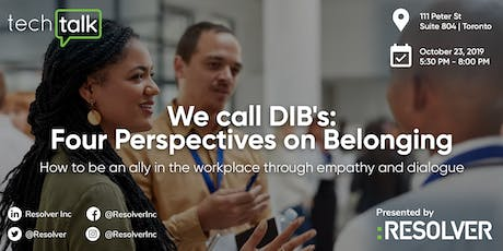 We Call DIB's: Four Perspectives on Belonging tickets