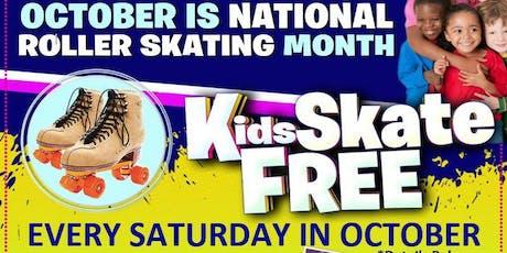 Kids Skate Free tickets
