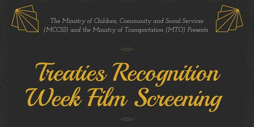 MCCSS/MTO Treaties Recognition Week Film Screening