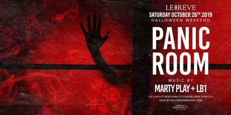 Halloween Panic Room At Le Reve  October 26 tickets