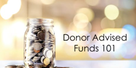 CGPNI  Lunch & Learn Program --  Donor Advised Funds - 101 tickets