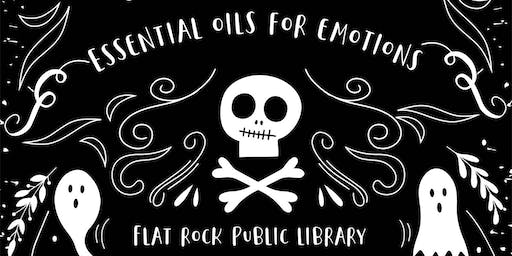 Spooky Emotions: Essential Oils for Mental Health