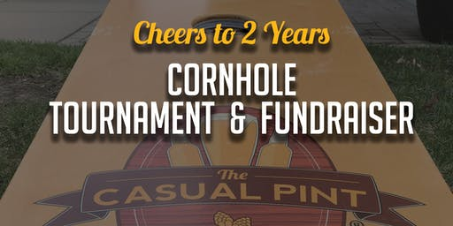 Cornhole Tournament (Cheers to 2 years)
