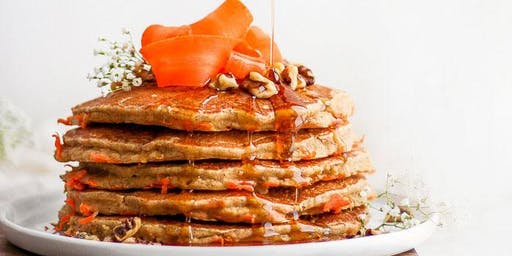 Carrot and Apple Whole Wheat Pancakes: Apple-y ever after