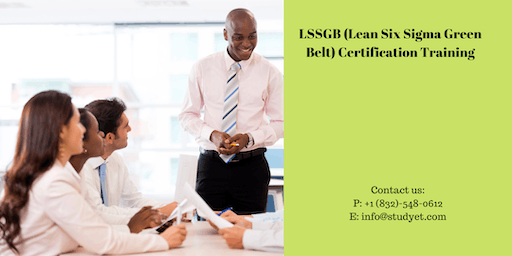 Lean Six Sigma Green Belt (LSSGB) Certification Training in Chibougamau, PE
