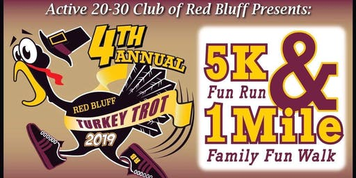 4th Annual Red Bluff Turkey Trot
