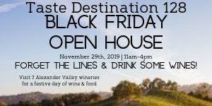 Taste Destination 128 Black Friday Open House