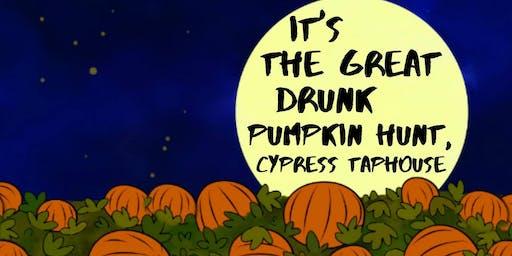 It's the Great Drunk Pumpkin Hunt