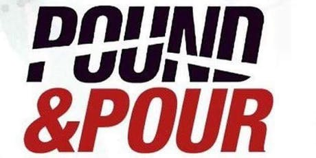 Pound and Pour with  Commit 2B Fit! tickets