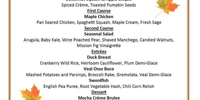 Chef's Table: 5 Course Dinner