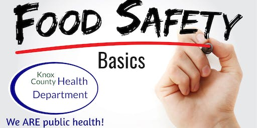 Knox County Health Department Food Safety Basics
