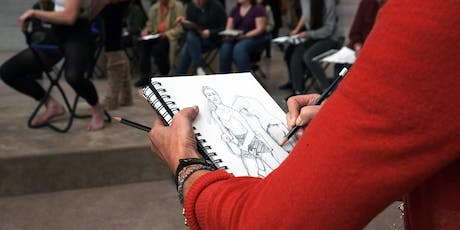 Drop-in Figure Drawing tickets