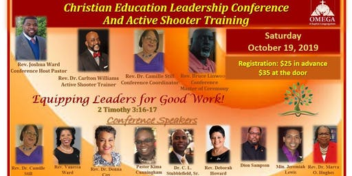Christian Education Leadership Conference and Active Shooter Training