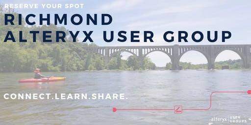 Richmond Alteryx User Group