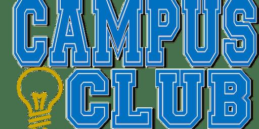 Campus Club Orientation-FRIDAY. OCT 25, 2019 @ 10:00am (start date Nov. 4th)
