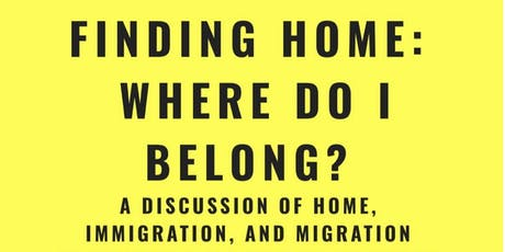 On The Table: Finding home, Where do I belong tickets
