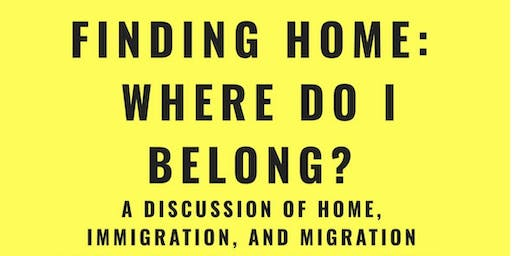 On The Table: Finding home, Where do I belong
