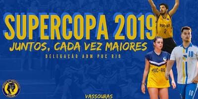 Delegação ADM PUC-Rio - Supercopa Universitária 2019