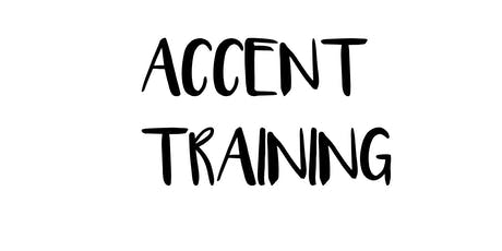 Accent Training with Peter Balance tickets