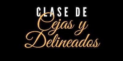 Clase de Cejas y Delineados