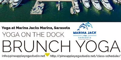 Sunday Funday Yoga at Marina Jack Dock
