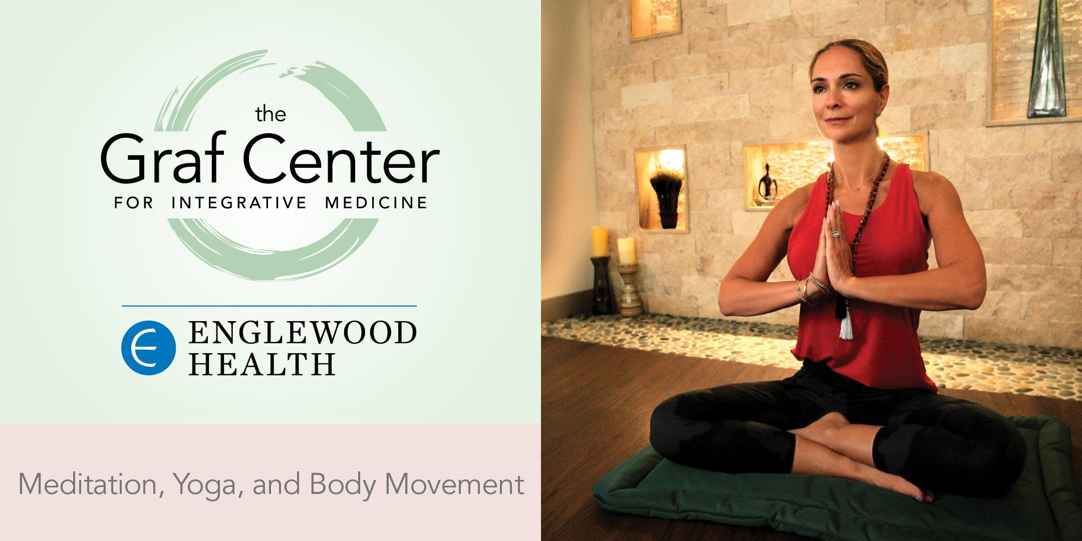 More info: Gentle Movement and Meditation (3-Session Series)