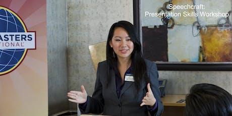 Speechcraft: Presentation Skills Workshop tickets