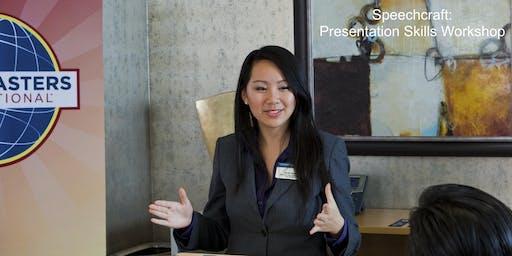 Speechcraft: Presentation Skills Workshop