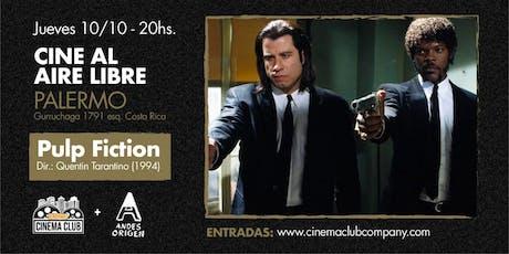Cine al Aire Libre: PULP FICTION (1994) -  Jueves 24/10 entradas