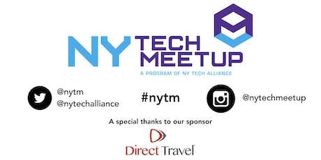 November 2019 NY Tech Meetup tickets