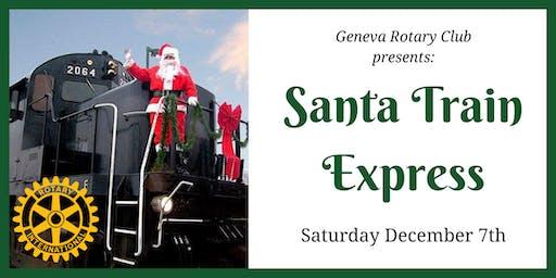 Santa Train Express 11:30am