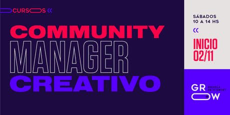 Community Manager Creativo (intensivo) entradas
