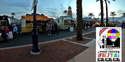 Food Truck Fiesta at the Cathedral City Hot Air Balloon Festival