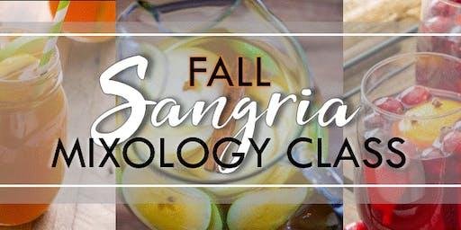 Fall Sangria Mixology Class